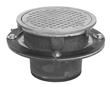 "- 8"" Round x 3"" Deep Floor Sink"