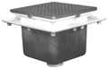 "- 16"" Square x 12"" Deep Floor Sink"
