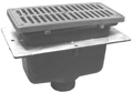 "- 8"" x 4"" x 4"" Deep Floor Sink"