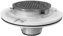 "- 10"" Round Flushing Rim Floor Sink"